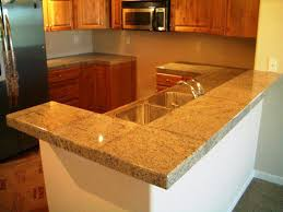 image of how to install granite tile countertops
