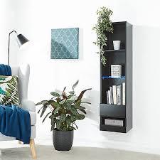 galicia floating wall mounted shelf
