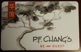 pf chang gift card balance photo 1