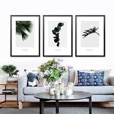 wall pictures for living room home decoration Nordic Tropical cactus plants  art canvas poster prints on