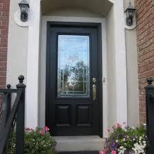 single front doors with glass. Single Glass Front Door With Black Wooden Frames And Golden Handle Doors H