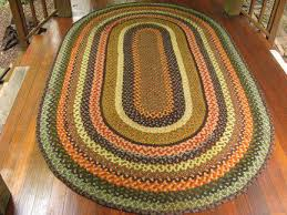 floor braided rugs size 4x8 feet