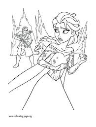 coloring pages elsa book and anna free printable frozen