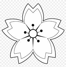black white flower tattoos sakura flower drawing black and white 194305