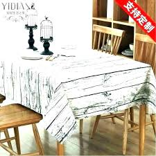 kitchen table covers round