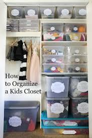 How to Organize a Kids Closet