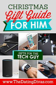 gift guide for the tech guy