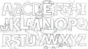 Coloring Pages Free Alphabet Coloring Pages For Toddlers Good