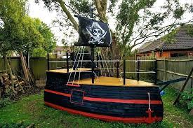 boat swing set plans wooden