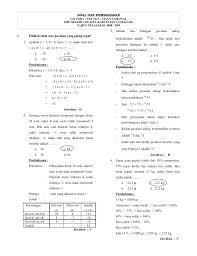 Download contoh soal dan kunci jawaban siap uts/pts semester 2/ii smp/mts kelas 8/viii bahasa indonesia kurikulum 2013. Soal Dan Pembahasan Try Out Matematika Smp