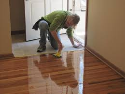 we can help you refinish wood floors yourself