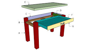 desk plans how to build step by step building a small desk wood standing desk plans