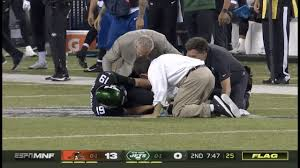 Trevor Siemian Scary Ankle Injury | Jets vs Browns | NFL Week 2 ...
