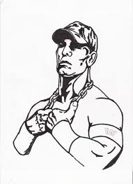 Small Picture John Cena Coloring Pages coloringsuitecom