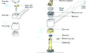 kitchen faucet bathtub large size diverter valve replacement