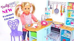 American Girl Gourmet Kitchen Opening Review Youtube
