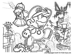 Cool Mario And Luigi Coloring Pages Wwwpicturesverycom