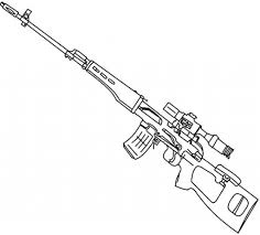Small Picture Gun Coloring Pages coloringsuitecom