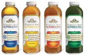 kombucha bottled
