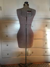 dress makers form singer dress form size a gray fabric mannequin vintage