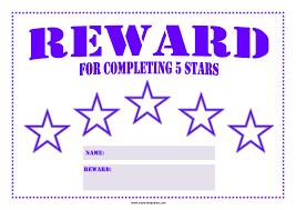 How To Do A Reward Chart Reward Chart Template Templates At Allbusinesstemplates