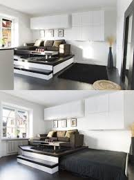Space Saving Living Room Furniture 25 Ideas Of Space Saving Beds For Small Rooms Designrulz