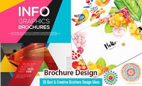 school brochure design ideas 26 best and creative brochure design ideas for your inspiration