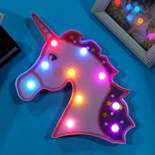 Unicorn Gifts Night Lights Remote Control Led Lamps Decor Supplies For 5 6 7 8 9 10 11 12 13 Years Old Girls Christmas Birthday Purple Unicorn