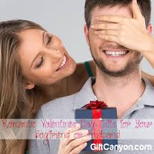romantic valentines day gifts for boyfriend or husband