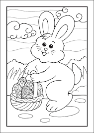 You may print them for free for personal and educational purposes. Easter Bunny Coloring Pages For Kids Free Printable Set