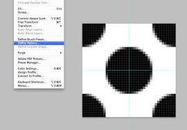 Create Pattern Photoshop