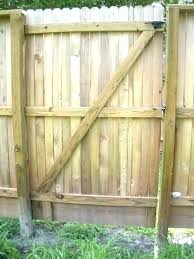 wood picket fence gate. Wood Picket Fence Gates Build A Wooden Gate How To Construction Building Lowes E
