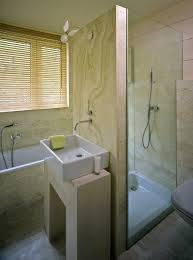 Separate shower and tub along same wall / bath ideas Juxtapost
