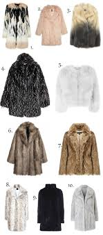 faux fur coats don t wear real fur the style guide blog