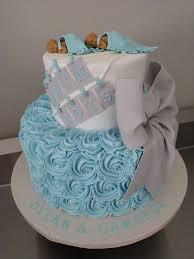 Twins Boys Baby Shower Cake 803 386 8806 Info At Vintagebakerycom