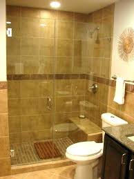stand up shower tile ideas for bathrooms standing bathroom small