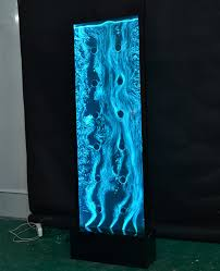 best interior decorations custom fountains led vortex swirl water bubble panel wall