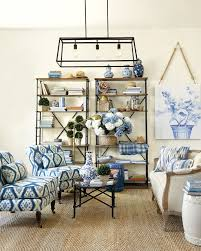 blue and white furniture. Remember To Keep Balance In Mind When Mixing Patterns Together. Blue And White Furniture