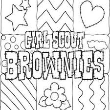Girl Scout Brownie Coloring Pages Bing Images Girl Scouts