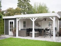 lugarde prima grace flat roof summerhouse prima grace