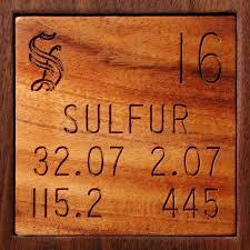 Fun with Sulfur