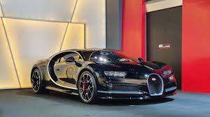 (the brake calipers are red), getting the shade right for the leather, the paint. Alain Class Motors Bugatti Chiron