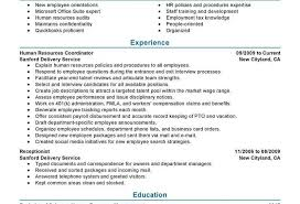 Hr Generalist Resume Specialist Template With Years Experience ...