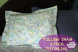 How to make a Pillow Sham- DIY Tutorial & Giveaway - YouTube &  Adamdwight.com