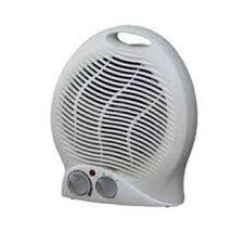 fan heater. picture of radiative halogen heater a cheap fan