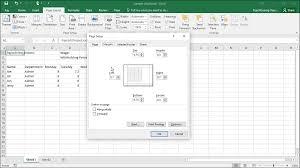 Set Margins In Excel Instructions Teachucomp Inc