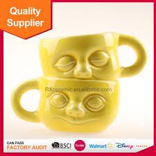 Smiley Face Coffee Mug 3d Face Mug 3d Face Mug Suppliers And Manufacturers At Alibabacom