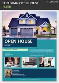 open house flyers template open house flyer templates 34 best free flyer templates images on