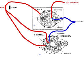 wiring diagram mitsubishi alternator wiring image alternator to battery wiring diagram alternator auto wiring on wiring diagram mitsubishi alternator