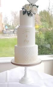 Wedding Cake Modern Designs White Wedding Cake Simple Wedding Cake Contemporary